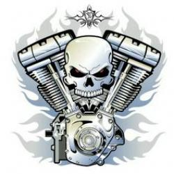 Pitons clipart v twin engine