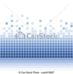 Pixel clipart mosaic