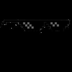 Pixel clipart sunglass