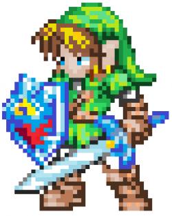 Zelda clipart 8 bit