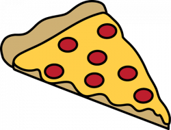Triangle clipart pizza slice