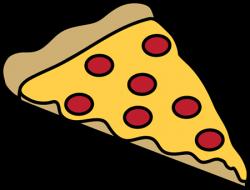 Triangle clipart pizza slice