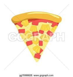 Pizza clipart hawaiian pizza