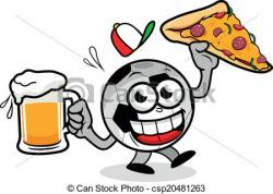 Pizza clipart soccer