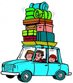 Travel clipart car ride