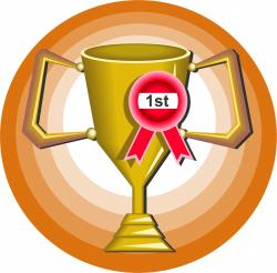 Winning clipart trophy