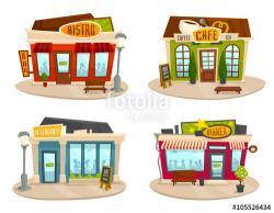 Pl clipart restaurant building