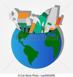 Pl clipart world icon