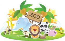 Place clipart zoo