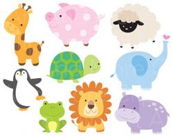 Elephant clipart zoo animal