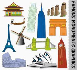 Monument clipart famous