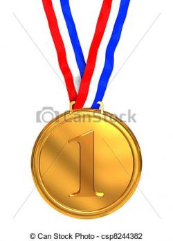 Place clipart 1st place medal