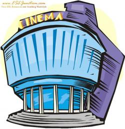 Place clipart cinema building