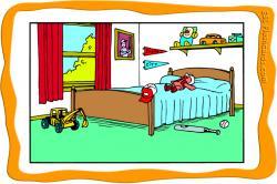 Bedroom clipart esl