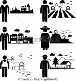 Places clipart to live