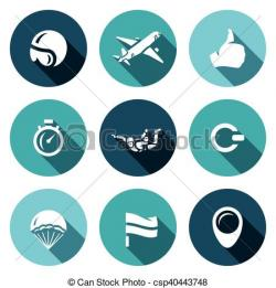 Skydiving clipart circle