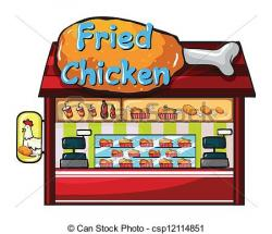 Place clipart fast food restaurant