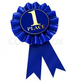 Places clipart first place