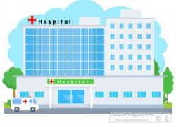 Hospital clipart illustration
