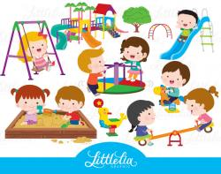 Playground clipart childrens playground