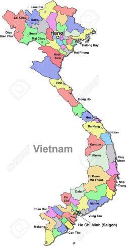 Vietnam clipart vietnam map