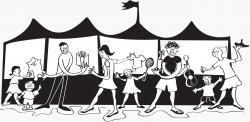 Market clipart craft fair