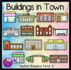Places clipart town