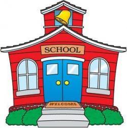 Bulding  clipart nursery school