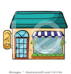 Restaurant clipart cafe building