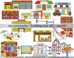 Bulding  clipart pet shop