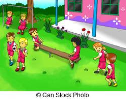 Place clipart school playground