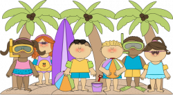 Surfer clipart summer activity