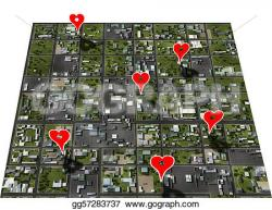 Place clipart town map
