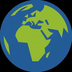 Europe clipart globe