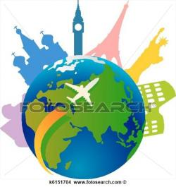 Travel clipart world travel