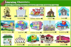 Places clipart english