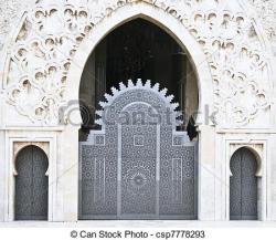 Places clipart entrance