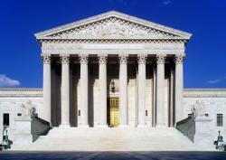 White House clipart supreme court building