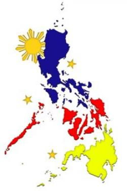 Philipines clipart philippine map