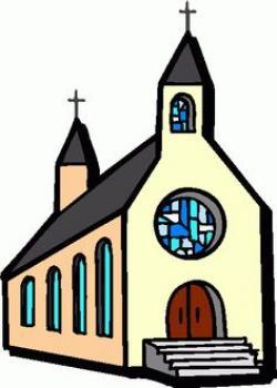 Chapel clipart church person