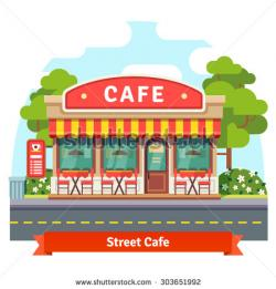 Places clipart restaurant building