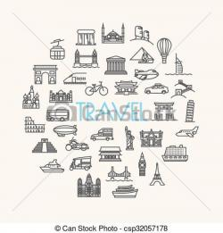 Places clipart vacation