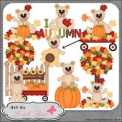 Plaid clipart autumn