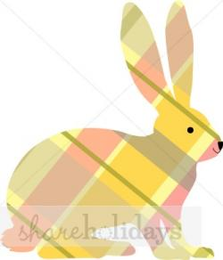 Plaid clipart easter