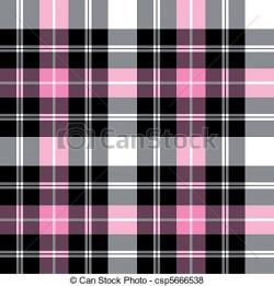 Plaid clipart pink