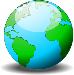 Planet Earth clipart continent