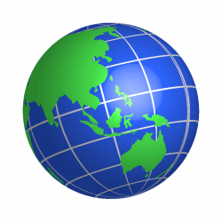 Planet Earth clipart globe logo