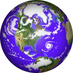 Planet Earth clipart graphic