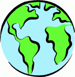 Planet Earth clipart half earth