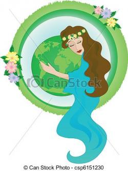 Planet Earth clipart mother nature
